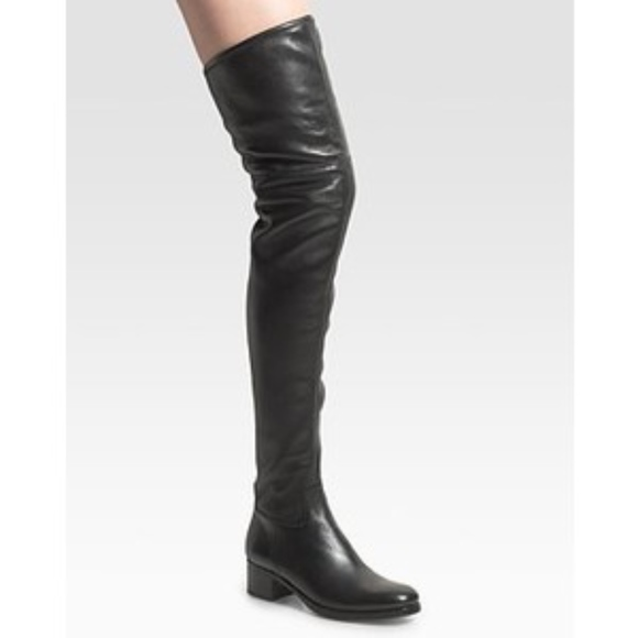 half off timeless design sneakers for cheap Prada over knee boots